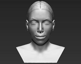Kim Kardashian bust 3D printing ready stl obj
