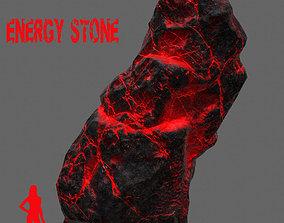 Glowing Rock 3D asset
