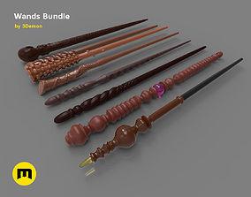 3D printable model Harry Potter Wands Bundle 2