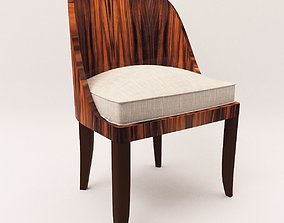 Chair - Art Deco style 3D model upholstery