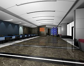 3D model Luxury architectural Hall Lobby