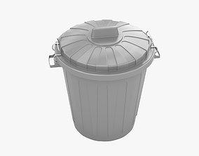 3D Trashcan 001