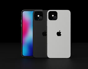 3D asset Concept of Apple iPhone 12 Pro Max LiDAR iPad 2