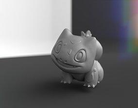Bulbasaur with base 3D print model
