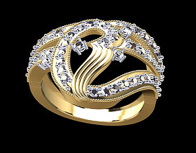 3D printable model Gold Ring 158