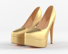 footwear High Heels Women Shoes 3D model
