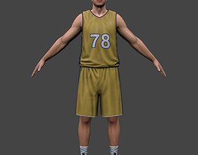 3D model Basketball Player V2