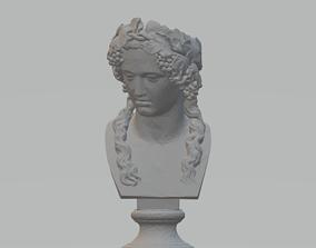 3D print model Bacchus Bust Head Planter Pot