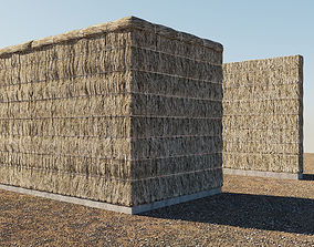 3D Thatched fence