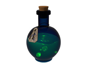 3D model food Potion bottle