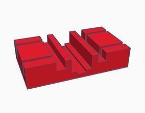 3D printable model Zeller trolley for motorless cars H0