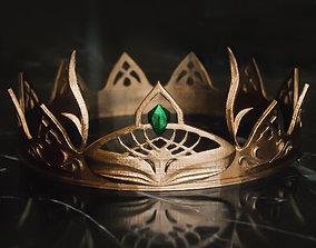 princess 3D print model FANTASY CROWN - TIARA