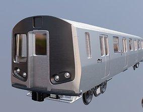 newyork subway train 3D model