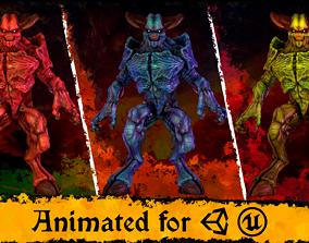 Hell Demon 3D asset