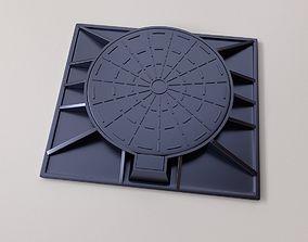 Manhole Cover 3D