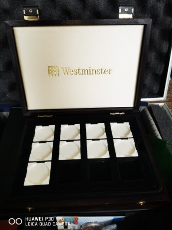 westminster coin capsule holder