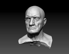 Bust of Man 3D printable model