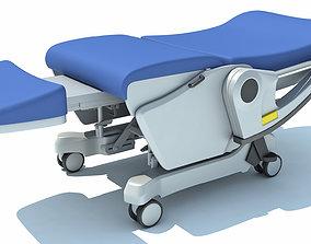 3D model Hospital Patient Chair