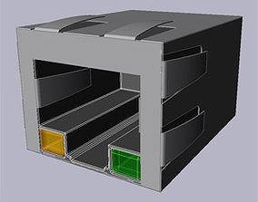Lan plug 3D