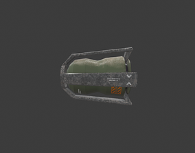 3D asset Rescue capsule