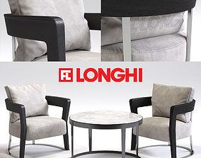 Fratelli Longhi AGATHA Armchair 3D model