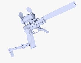 3D model M93 Raffica modded