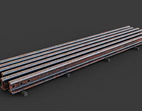 3D Old rails
