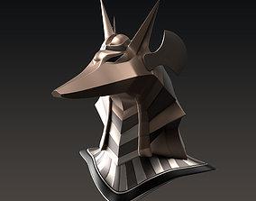 Anubis Helmet 3D model