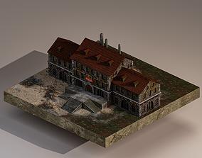 Medieval Academy 3D asset