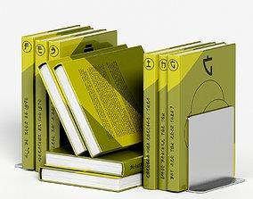 japanese book set 4 3D