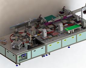 3D Lithium battery welding glue machine