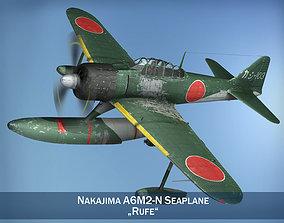 Nakajima A6M2-N - Rufe 3D