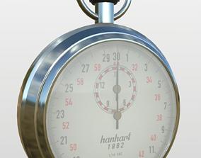 3D model Stopwatch Hanhart