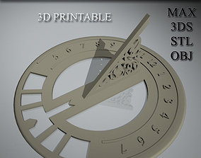 3D print model Pocket Sundial jewish