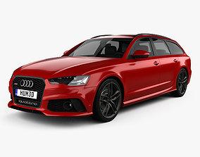 Audi RS6 C7 avant 2015 3D model