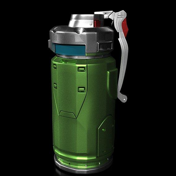 First ever grenade render