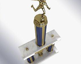 3D Soccer Trophy