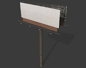Billboard 3D asset low-poly