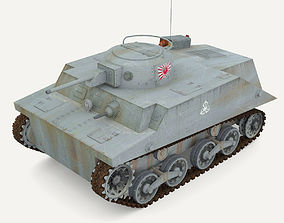 3D asset Tank Type 2 Ka-Mi