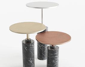 Rossato Arredamenti Claridge Tables 3D