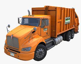 Industrial garbage truck 3D model