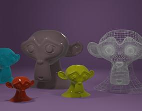 Suzanne 3D print model