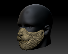 Quarantine Mask Cat Style 3D print model