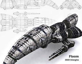 3DRT - Sci-Fi Norad Battleship - Floom realtime