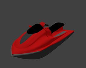 JetSki - Water Scooter 3D Model