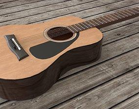3D model Classical Acoustic guitar Yamaha F310 6 strings