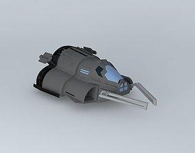 3D model Mule Utility Vehicle TU 8500