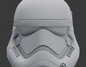 Star Wars First Order Stormtrooper helmet for 3D