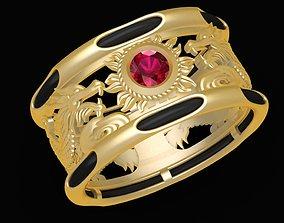 3D printable model 1977 Lucky Dragon Ring