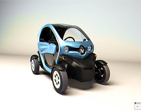 TWIZY Electric car RENAULT 3D model